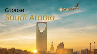 89 Saudi Arabia National Day | Etihad Airways