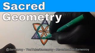 How to: Drawing Sacred Geometry / Mandala #TGN