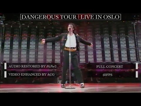 Michael Jackson | Dangerous Tour Live Oslo [60FPS] | FULL CONCERT | Restored Audio & Video