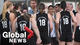 Prince Harry, Meghan Markle visit school targeted at improving education of indigenous Australians