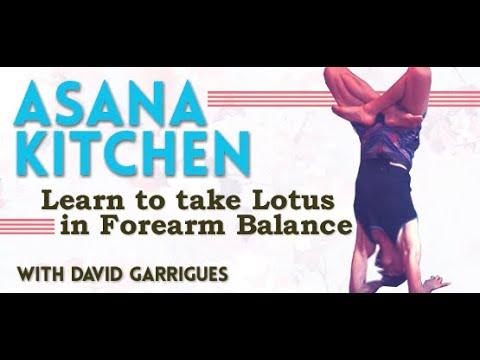 Asana Kitchen: Lotus in Forearm Balance (Pinchamayurasana to Karandavasana)