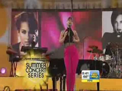 """The Fire we Make"" Alicia Keys & Maxwell On GMA"