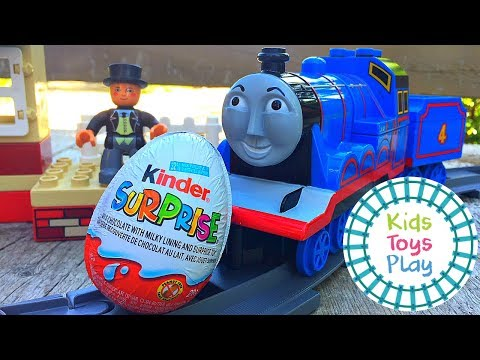 Thomas and Friends Kinder Surprise Egg | Sodor Storytime Robbing the Eggspress Thomas Full Episodes