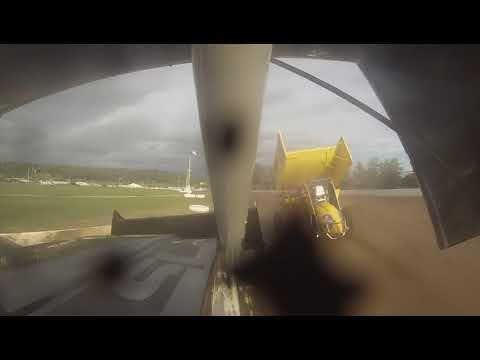 Fonda speedway 9-14-19 CRSA  305 sprintcar heat race