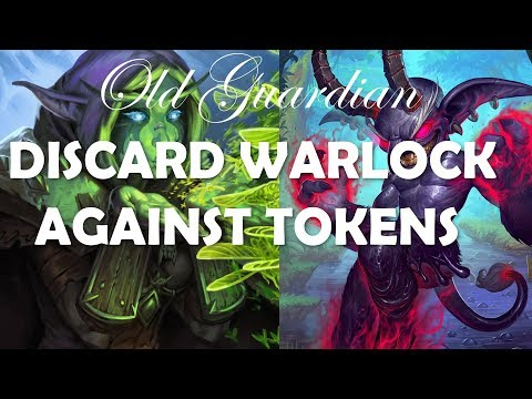 Nether Portal gives me tokens too (Hearthstone Rastakhan Discard Warlock vs Token Druid game)