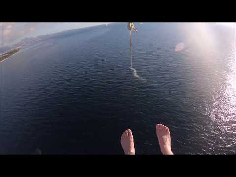 Mauritius: Parasailing in Turtle Bay/Balaclava with traser P68 Pathfinder