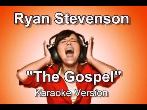 """Ryan Stevenson """"The Gospel"""" BackDrop Christian Karaoke"""