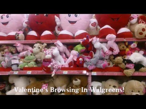 Valentine's Stuffed Animals In Walgreens!