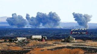 Мощные РСЗО и вертолеты-бомбардировщики бьют боевиков в Сирии (2)