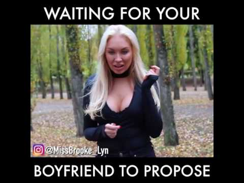 hqdefault waiting for her boyfriend marriage proposal youtube,Marriage Meme For Her