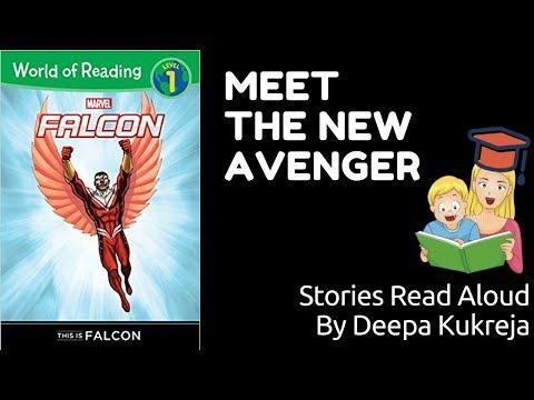 This is Falcon   Marvel   The Avengers   Clarissa Wong   Ron Lim   Rachelle Rosenberg   Read Aloud