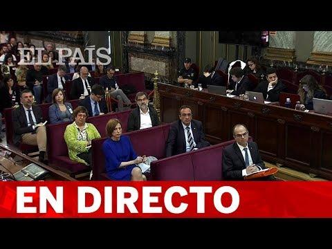 DIRECTO JUICIO DEL PROCÉS  Las DEFENSAS presentan sus CONCLUSIONES