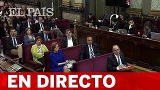 DIRECTO JUICIO DEL PROCÉS | Las DEFENSAS presentan sus CONCLUSIONES