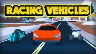 RACING THE VOLT BIKE & MORE! (ROBLOX Jailbreak)