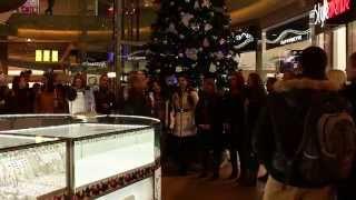 """Ave Plaza - Новорічний флешмоб від студентського хору ХНУ Каразіна """"Ad Libitum"""""""