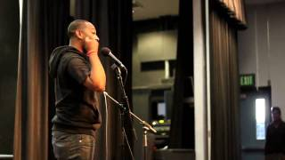 Love poem medley by Rudy Francisco at  Mira Costa College (@rudyfrancisco)