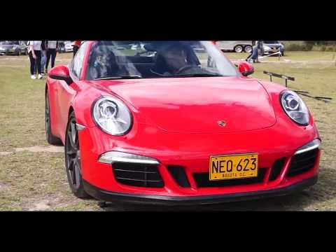 Autos deportivos acelerando en Colombia: Motor Picnic 2017 - GTR, 911, M4 & más...