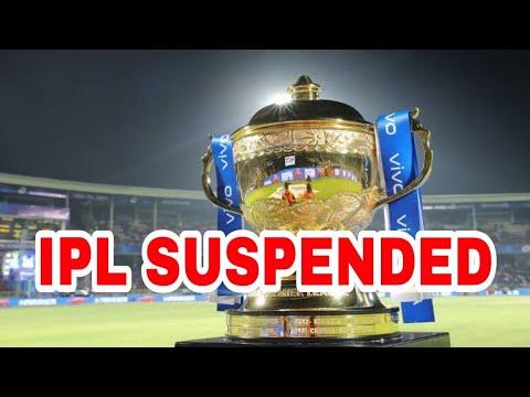 IPL 2021 Suspends Indefinitely amid Covid surge. Breaking News: BCCI