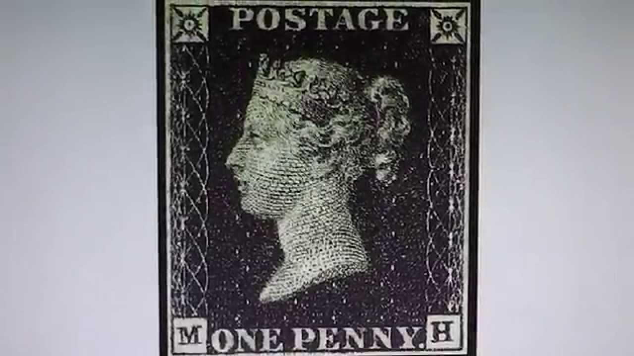 die one penny black die erste briefmarke der welt aus dem jahr 1840 youtube. Black Bedroom Furniture Sets. Home Design Ideas