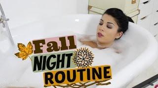 Fall || Night Routine 🍂