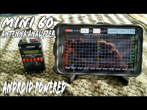Mini60 Antenna Analyzer Android  Quick Start Guide Ham Radio