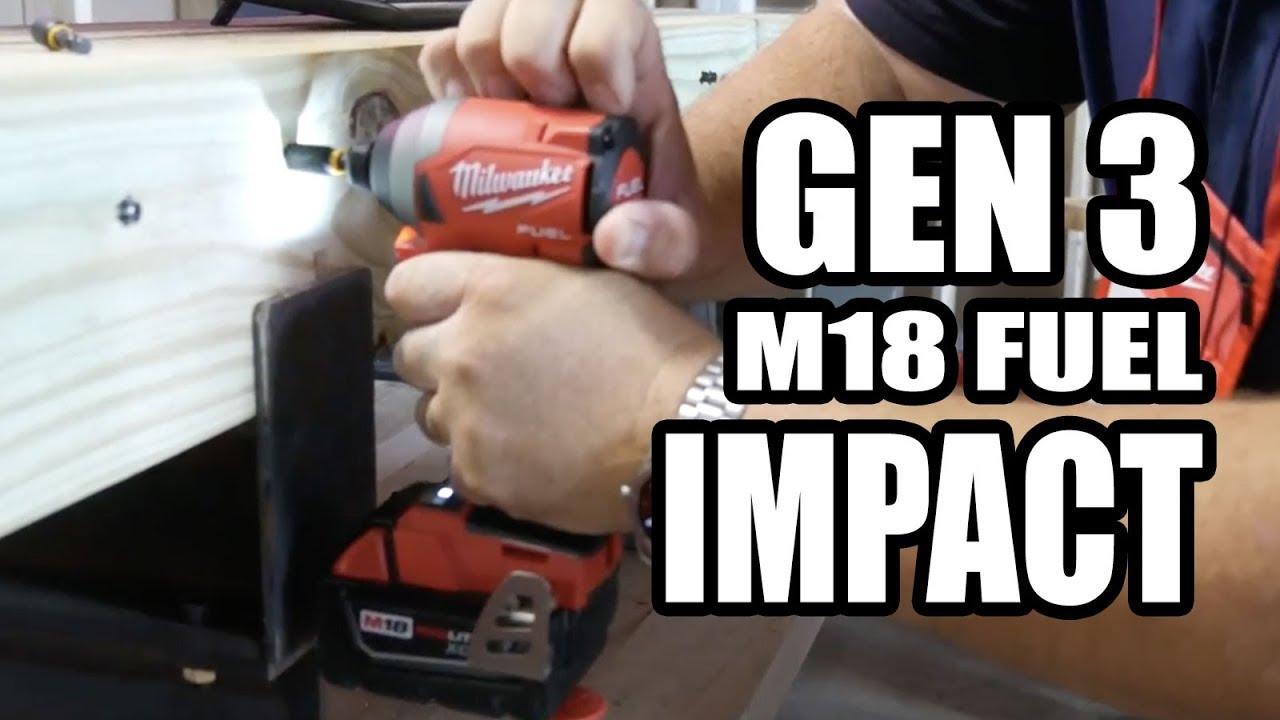 Milwaukee Gen3 M18 FUEL Impact Drivers Hands-on Preview