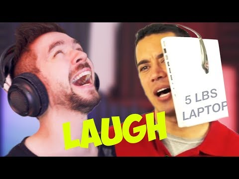 THE HARDEST I'VE EVER LAUGHED | Jacksepticeye's Funniest Home Videos