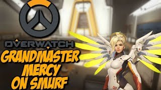 Overwatch | One trick mercy got them shook |Smurf