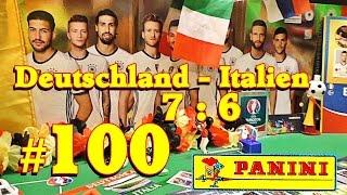 ⚽ Germany Italy PANINI UEFA EURO 2016 FRANCE new OFFICIAL STICKER ALBUM EM UNBOXING 5 Aufkleber #100