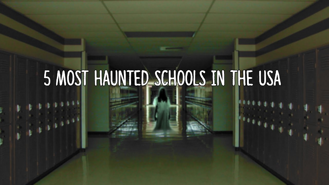 Real Ghosts In Schools
