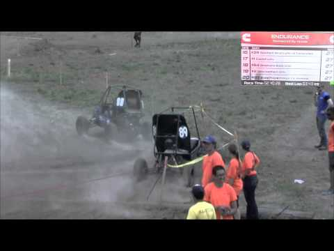 2014 Baja SAE Kansas - Endurance Race (full program)