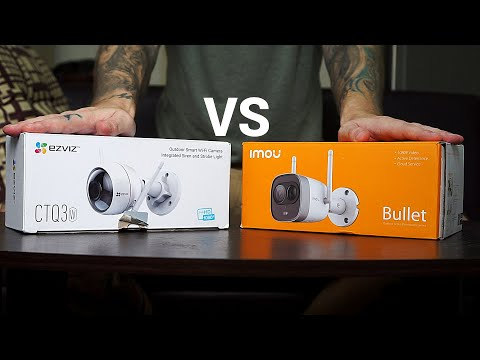 Which Camera is the Best? Imou New Bullet vs Ezviz Ezguard CTQ3W Smart Outdoor WiFi IP Camera
