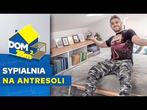 Dom 35 m2 - odc. 14 - Jak urządzić sypialnię na antresoli
