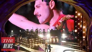 Queen & Adam Lambert Rock The Oscars With Opening Performance | Thr News