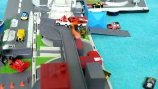 MicroMachines Slow Motion Toy Miniature Car Video