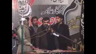 "Zakir Qazi Waseem Abbas "" Qasida And Masiab "" 2014 "" Shaheed Allama Nasir Abbas """