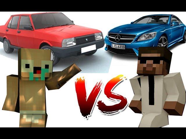 ZENGİN VS FAKİR HAYATI #11 - Minecraft Dizisi