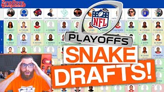 LET'S DRAFT! NFL Playoffs Fantasy Football (DFS)