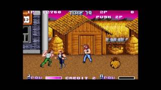 Double Dragon (Japan) - double dragon 2 arcade playthrough 60 fps - User video