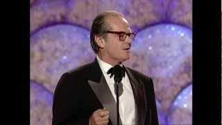 Jack Nicholson Receives Cecil B Demille Award - Golden Globes 1999