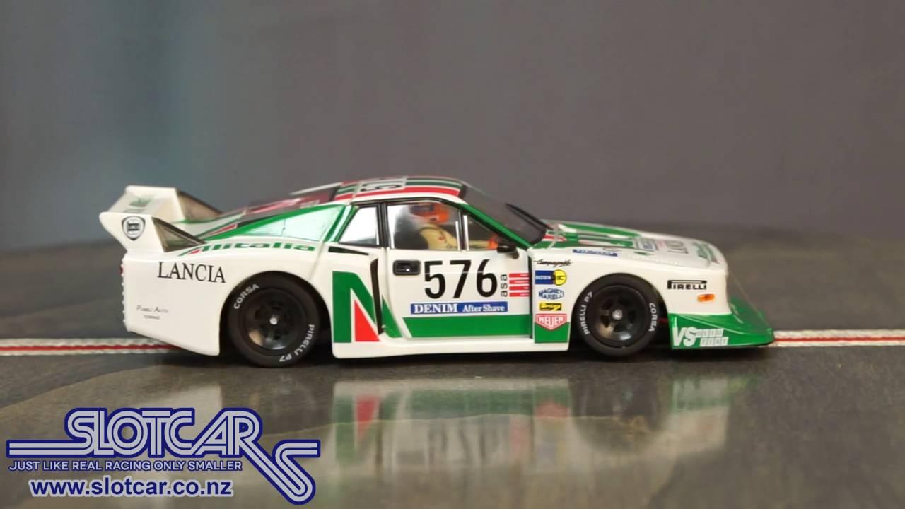 Sideways Slot Car Lancia Beta Montecarlo Group 5 576 Alitalia