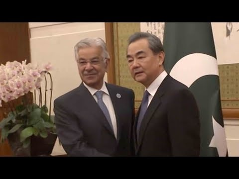 Wang Yi meets his counterpart from Tajikistan