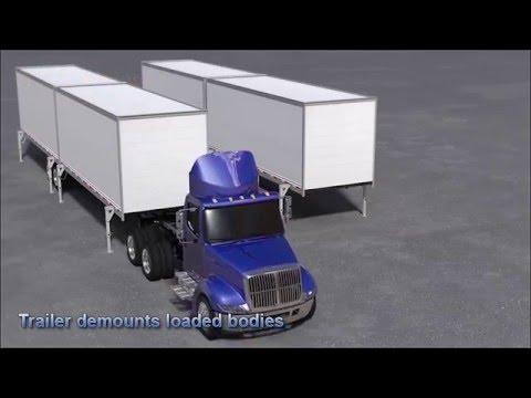 Warehouse on Wheels - Hub & Spoke Distribution to Remote Markets
