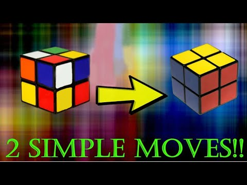 Solve The 2x2 In Just TWO Moves!!!
