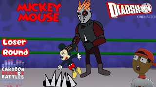 Mickey Mouse Vs Deadshot Cartoon Beatbox Battles Loser Round (all the credit goes to Verbalase)