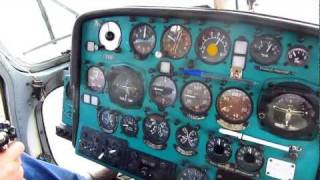 Moldaeroservice Mil Mi-2  - Engine Start-up, Departure & Landing from Bălți Airport, Moldova