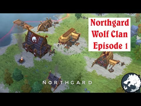 Northgard Wolf Clan Gameplay - Extreme Difficulty - # 1 |
