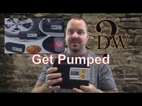Review portable air compressors by DBPOWER automotive
