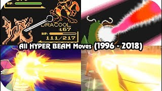 Evolution of Pokémon Moves - HYPER BEAM (1996 - 2018)