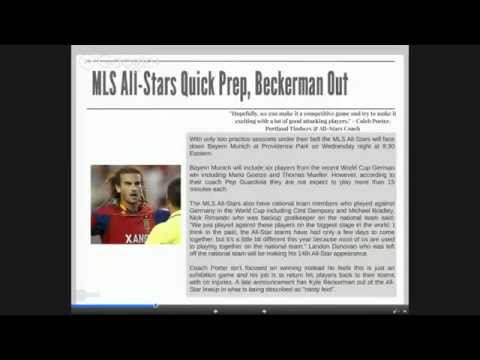 Daily Soccer News Wednesday August 6th 2014 All Your Living Needs